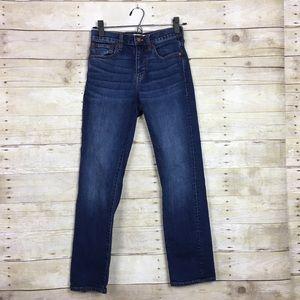 Madewell Cruiser Straight Leg Jeans Size 24